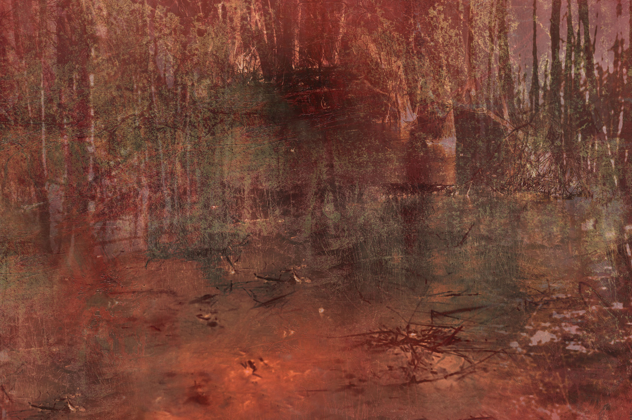 Unearthing #6, 60×90 cm, 2021